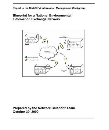Scott rubin the exchange network national environmental information exchange network blueprint malvernweather Choice Image