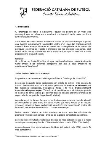 Arbitratge futbo 1l - Plataforma Esport i Dones