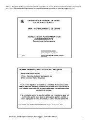 1 Prof. Dr. José Francisco Pontes Assumpção - Especialização em ...