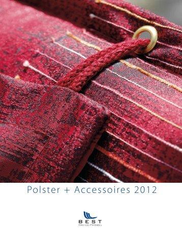 Polster + Accessoires 2012 - Best Freizeitmöbel