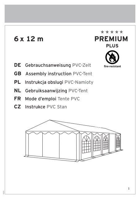 6 X 12 M Premium Plus Obsah Profizelt24