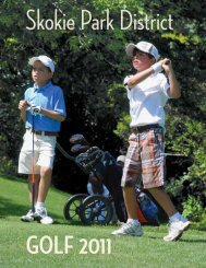 Golf Programs - Skokie Park District