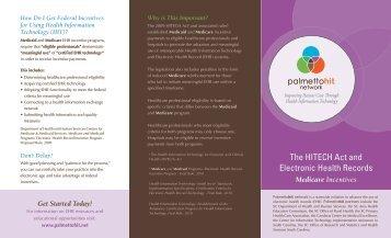 Medicare Incentives - South Carolina Area Health Education ...