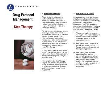 Drug Protocol Management: