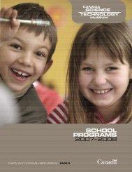 School ProgramS 2007–2008