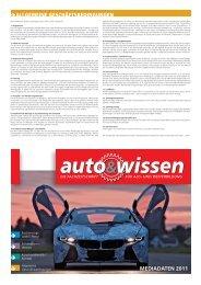 Mediadaten 2011 - Auto & Wissen