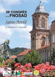 39e Congrès de la FNOSAD à Saint-Avold - Apiservices