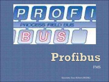 Profibus jellemzői