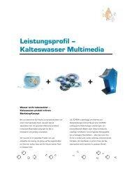 Leistungsprofil - Kalteswasser Multimedia GmbH