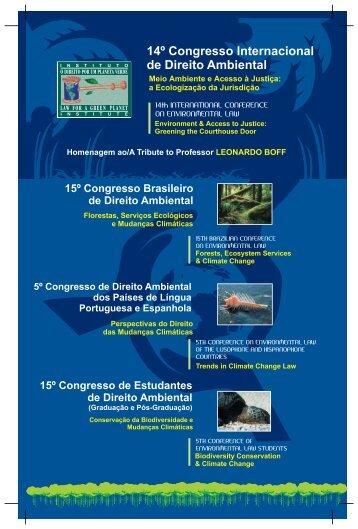 14º Congresso Internacional de Direito Ambiental