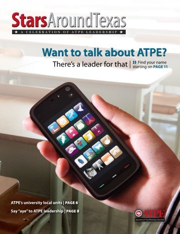 Want to talk about ATPe? - Association of Texas Professional ...