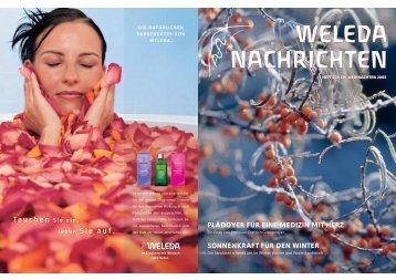 Weleda Nachrichten 236 Weihnachten 2005 PDF-Download