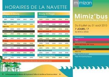 Mimiz'bus - Tourisme de Mimizan