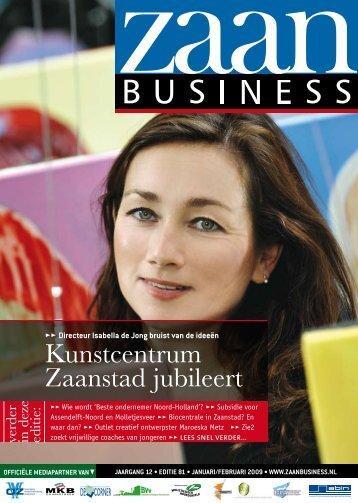 Kunstcentrum Zaanstad jubileert - Zaanbusiness