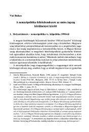 A nemzetpolitika feltételrendszere az uniós tagság körülményei között