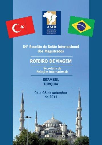 54ª Reunião da União Internacional dos Magistrados - AMB