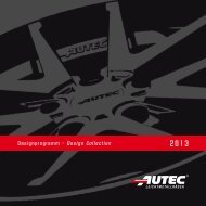 Download Flyer (PDF: 3,2 MB) - AUTEC GmbH & Co. KG