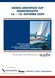 18. oktober 2009 - HANSE AEROSPACE e.V