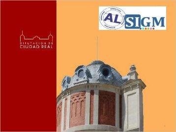 ALSIGM en Diputación de Ciudad Real - Plan Avanza