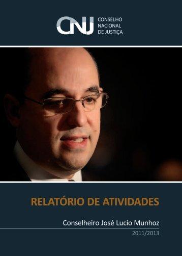 RELATÓRIO DE ATIVIDADES - AMB