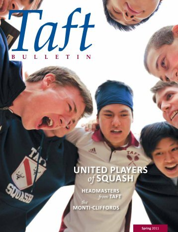 United PlayerS of SqUaSh - The Taft School