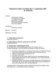 Referat fra møde i husrådet den 11. september ... - Sygehusapoteket