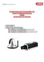 Konfiguration des Fernzugriffes aufx - Produktinfo.conrad.com