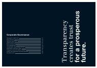 Corporate Governance - Geschäftsbericht 2012-2013 - Züblin ...