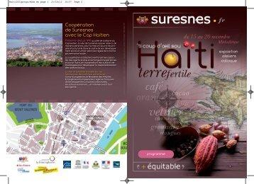 Programme de Suresnes - Cités Unies France