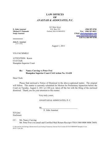 Voluntary dismissal without prejudice