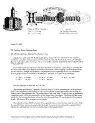 Brendle,JW Drain_Lakeside Park Section 3.pdf - Hamilton County ...