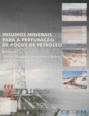 Insumos minerais - Cetem