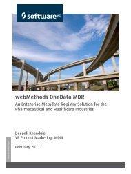 webMethods OneData MDR - Software AG