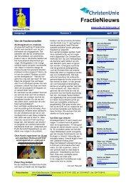 Klik hier voor de digitale versie - ChristenUnie Ede