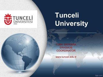 Tunceli University - Oamk