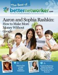 Aaron and Sophia Rashkin: