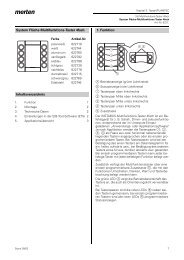 System Fläche-Multifunktions-Taster 4fach ... - Merten