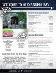 Visitor Guide 2011 the of the thousand islands - Alexandria Bay ... - Page 2