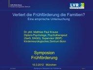 Mit Eltern kooperieren - Arbeitsstelle Frühförderung Bayern