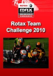 Rotax Team Challenge 2010 - RotaxMax