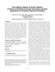 From Motion Capture to Action Capture - Intelligent Autonomous ...