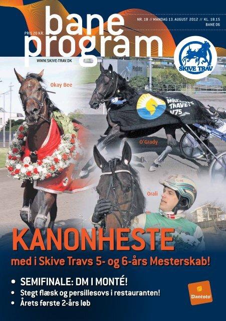 13. august 2012 - Skive Trav