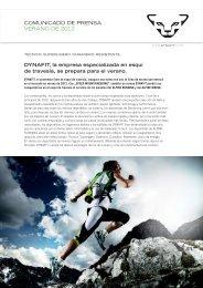 DYNAFIT Press Release Summerlaunch (PDF)