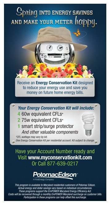 7 15 11 annual report t for Energy efficiency kits