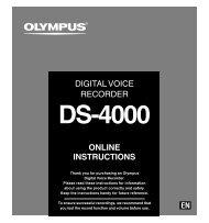 Olympus DS-4000 Manual - Image Management