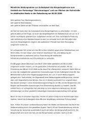 07.04.06 Ruhrbania Begehren Rede Stadtdirektor Ratssitzung