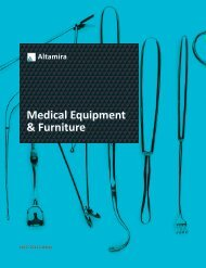 Medical Equipment & Furniture - Altamira/Medical