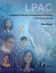Resources (PDF) - Education Service Center, Region 20