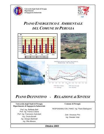 Relazione di Sintesi - Centro di Ricerca sulle Biomasse