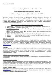 Praha, dne 29.8.2012 Informace o možnosti přihlášení se do 13 ...